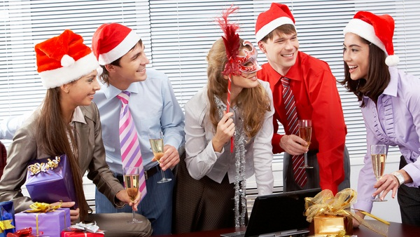 Les fêtes s'invitent au bureau