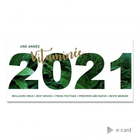 E-card  2021 effet jungle